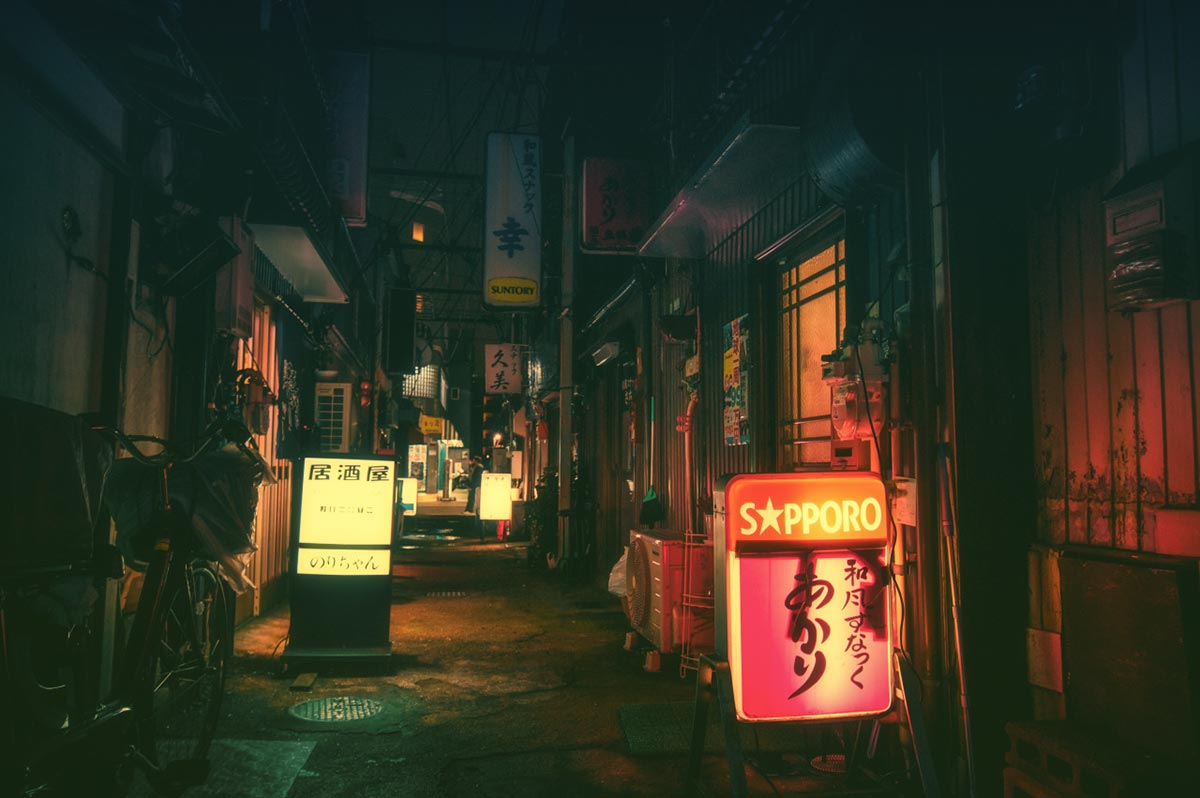 Tokyo by Night by Masashi Wakui 9