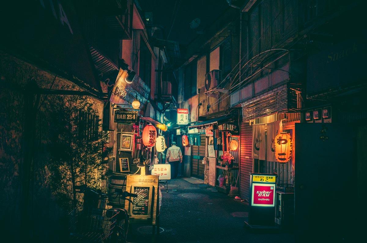 Tokyo bei Nacht von Masashi Wakui 1