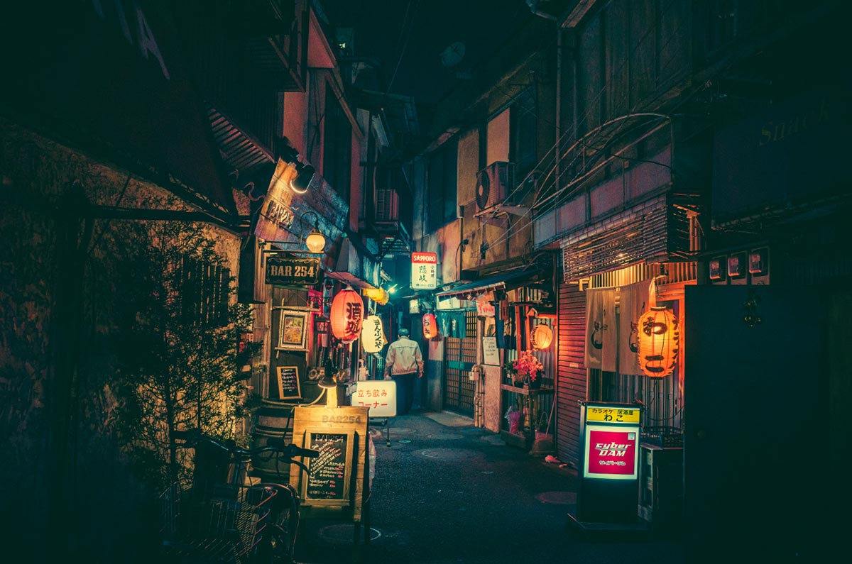 Tokyo by Night by Masashi Wakui 1