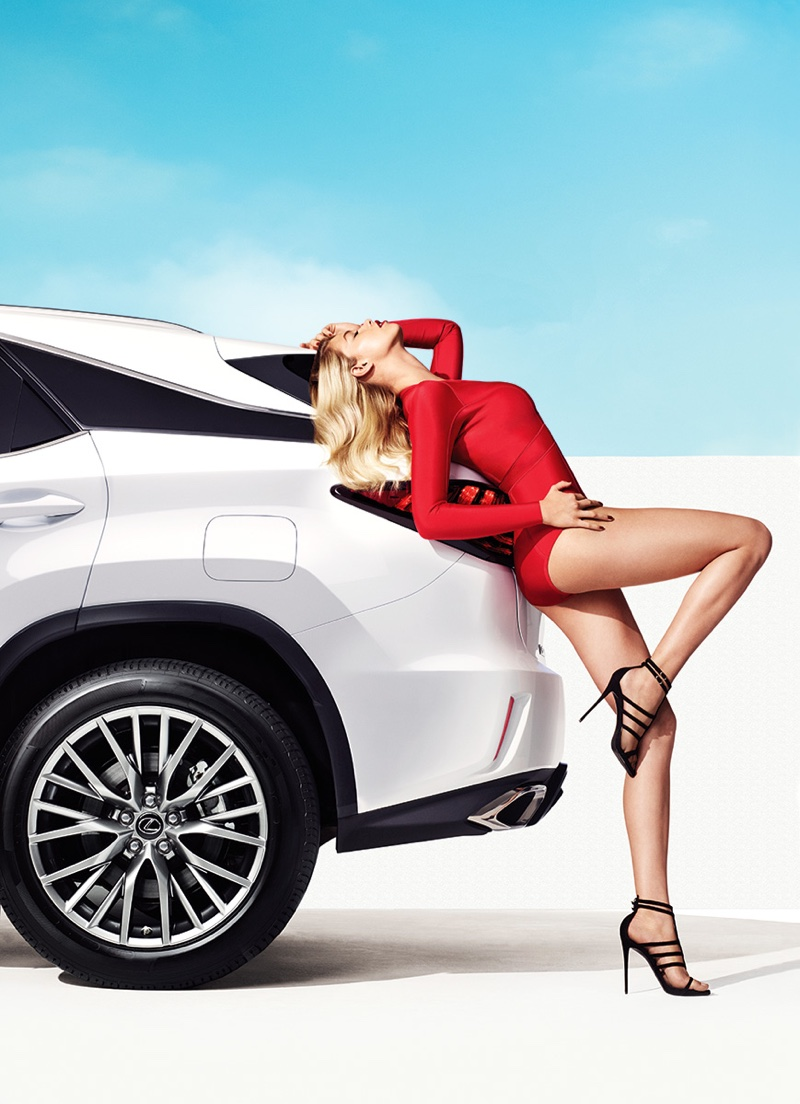 Hailey Clauson for New Lexus Campaign 2
