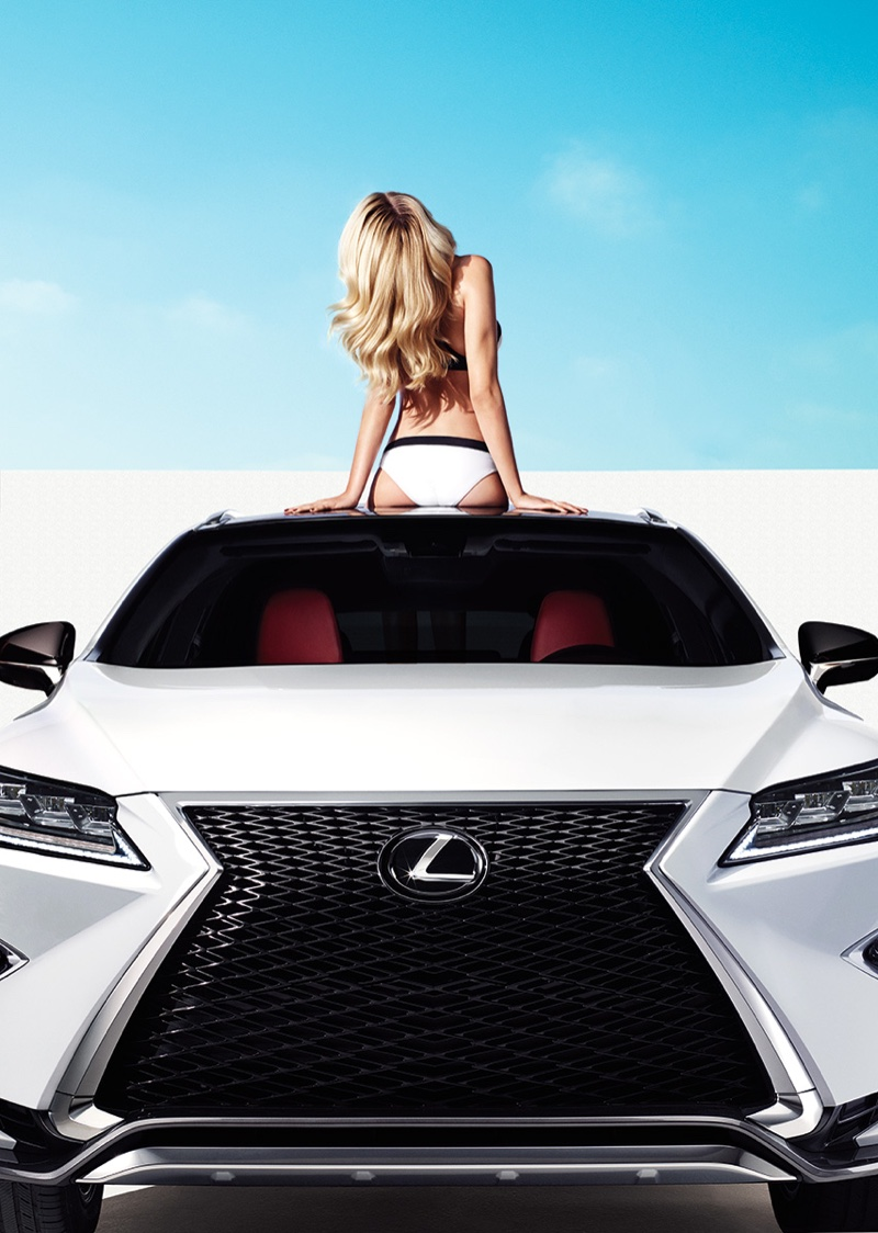 Hailey Clauson for New Lexus Campaign 4