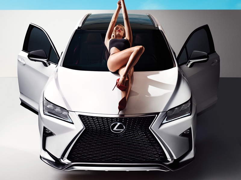 Hailey Clauson for New Lexus Campaign 5