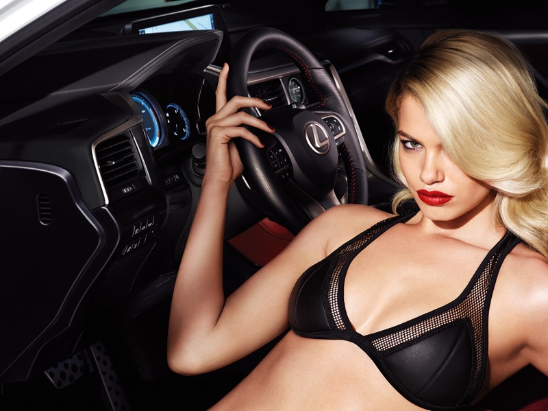 Hailey Clauson for New Lexus Campaign 1
