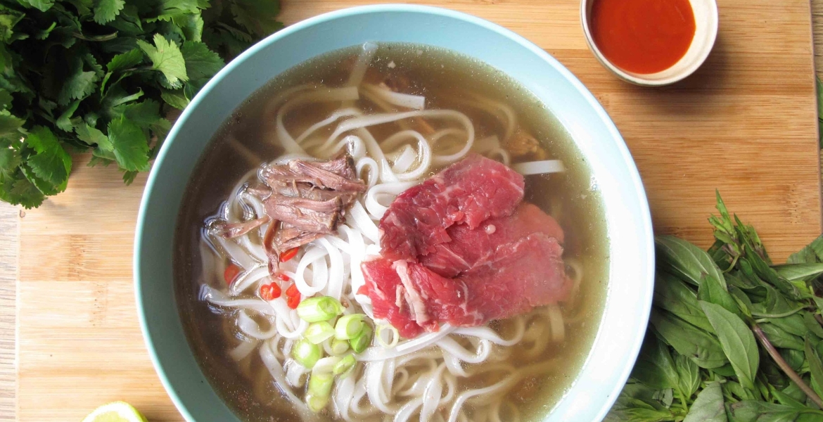 Beef Pho: A Vietnamese Power-Soup