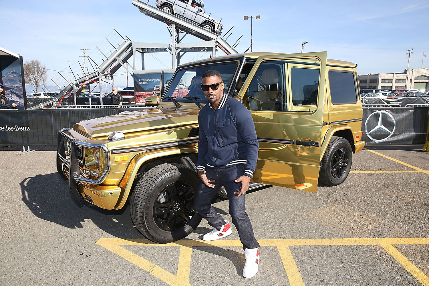 The Mercedes-Benz G550 Special Edition In Celebration Of Super Bowl 50 2