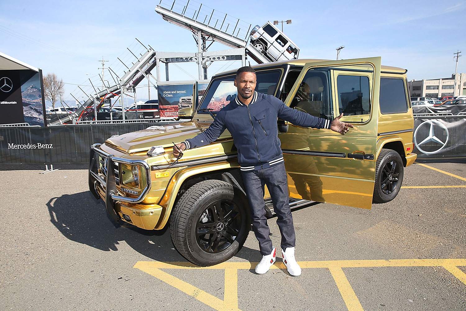 The Mercedes-Benz G550 Special Edition In Celebration Of Super Bowl 50 3