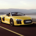 The New Audi R8 Spyder Goes Topless in New York
