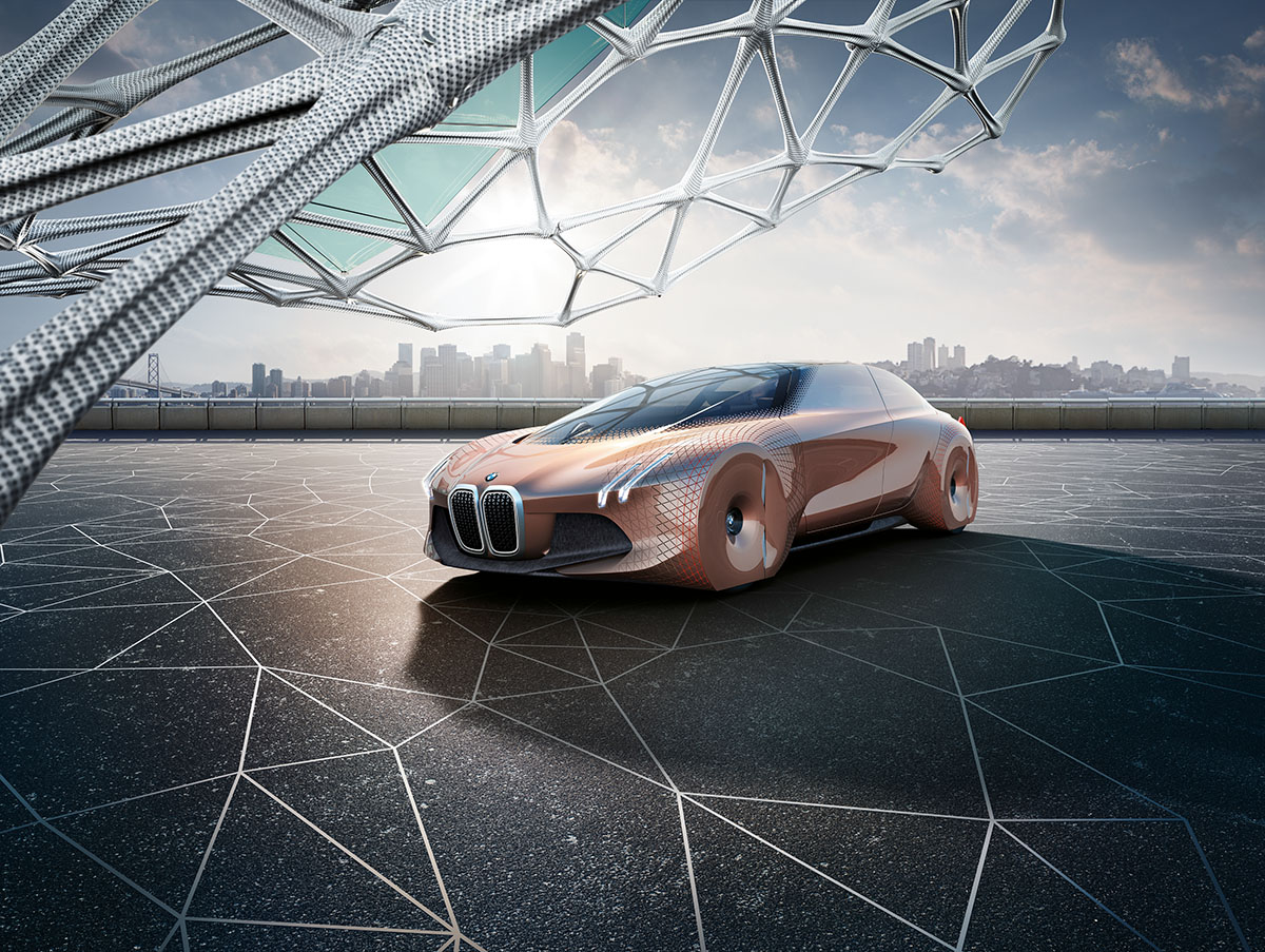 The Car of the Future: The BMW Vision Next 100 2