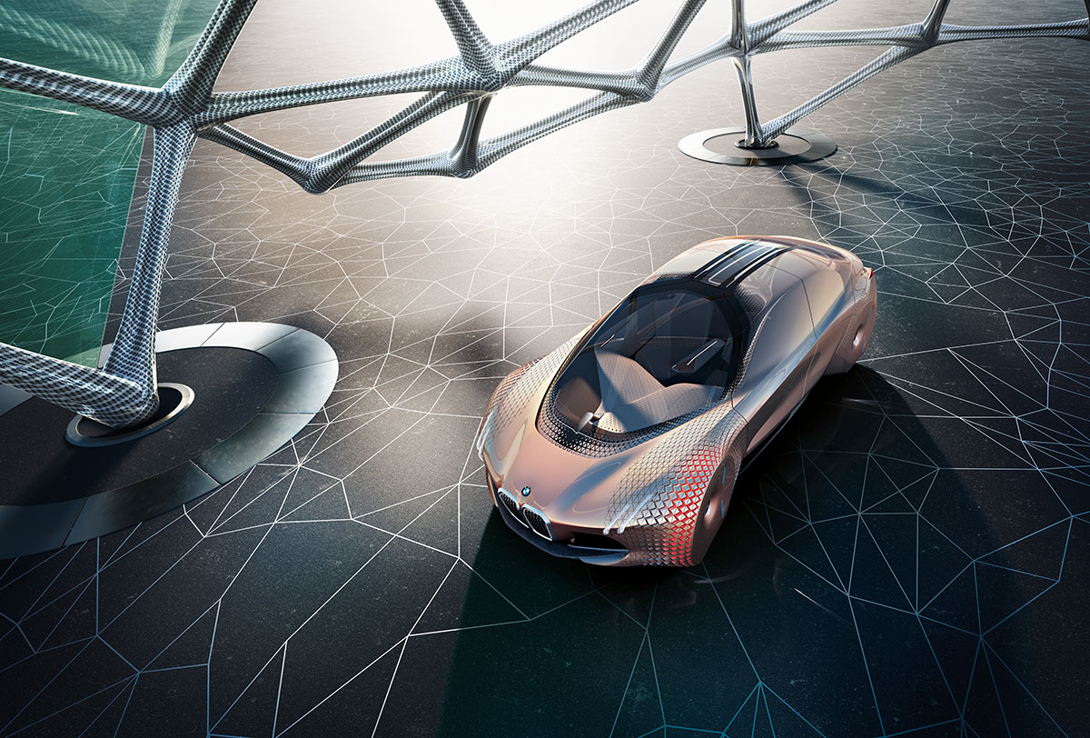 The Car of the Future: The BMW Vision Next 100 4