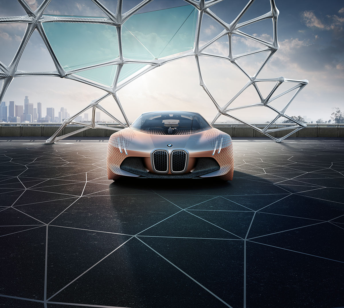 The Car of the Future: The BMW Vision Next 100 5