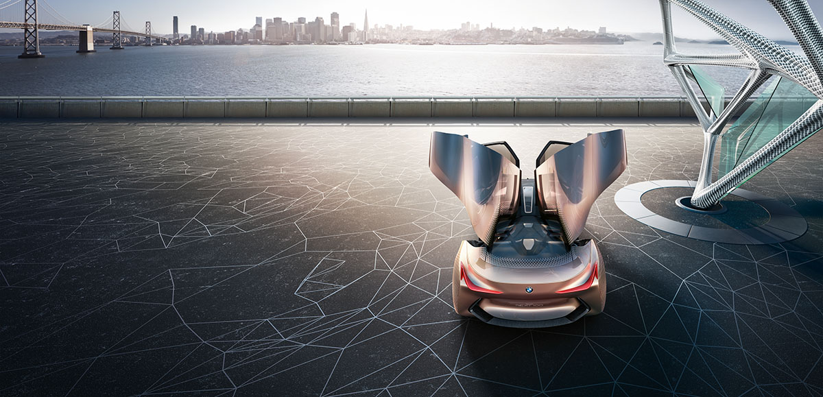 The Car of the Future: The BMW Vision Next 100 6