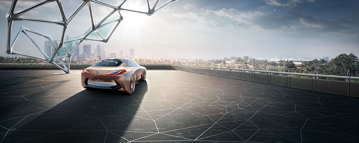 The Car of the Future: The BMW Vision Next 100 7