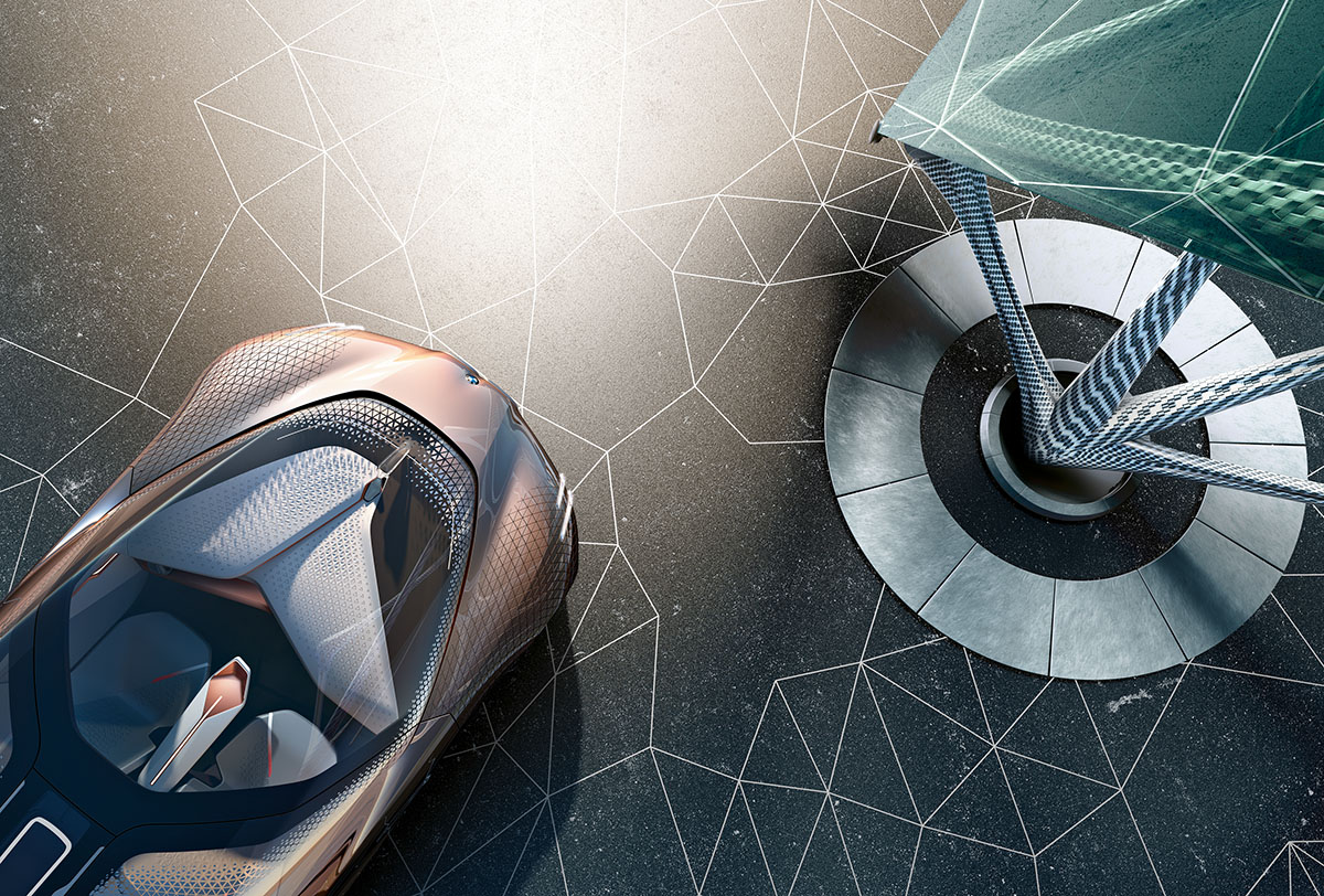 The Car of the Future: The BMW Vision Next 100 8