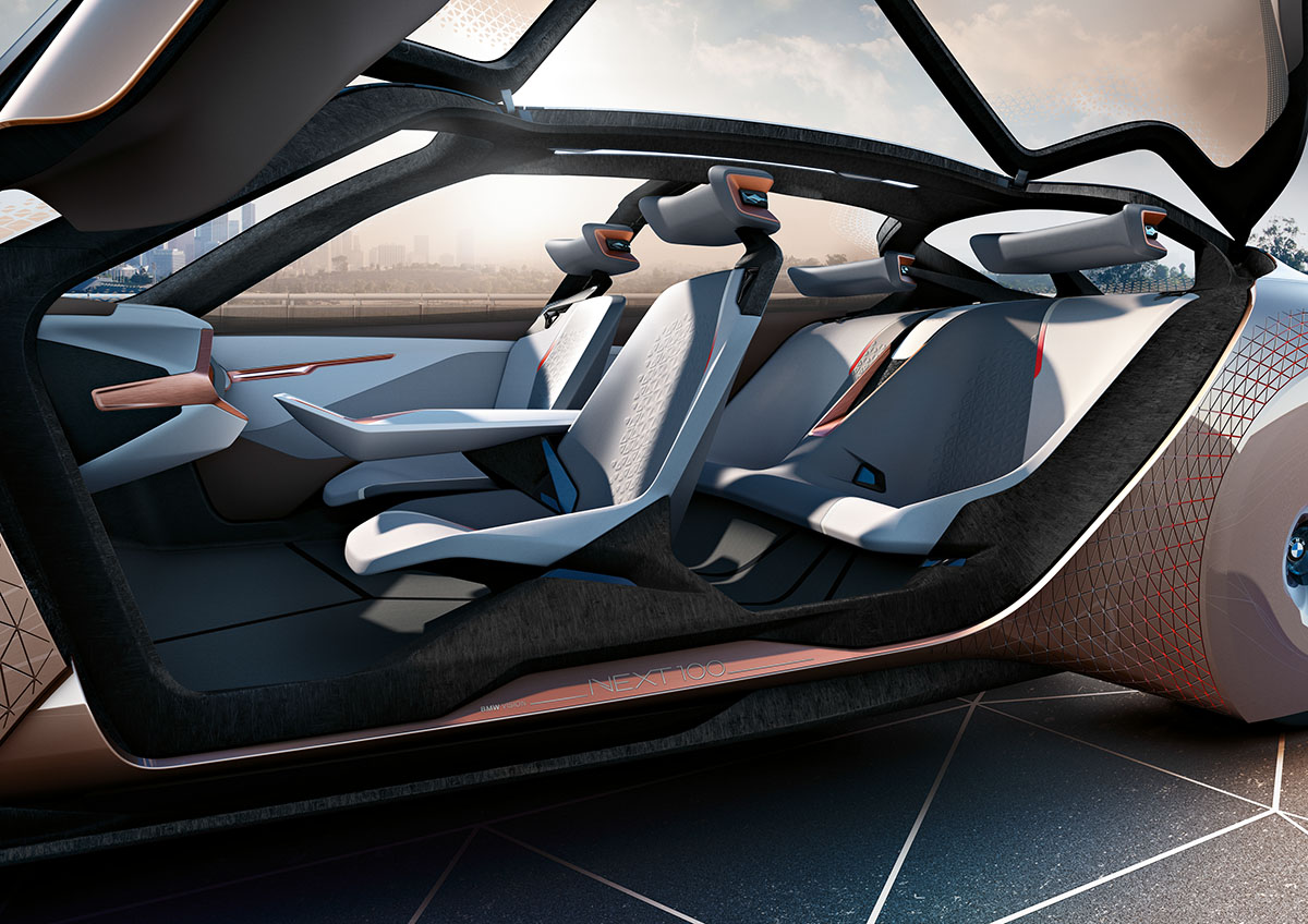 The Car of the Future: The BMW Vision Next 100 9