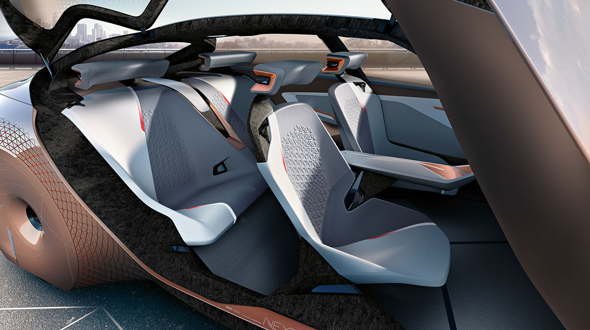 The Car of the Future: The BMW Vision Next 100 10