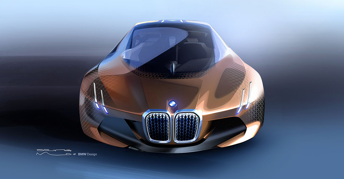 The Car of the Future: The BMW Vision Next 100 15