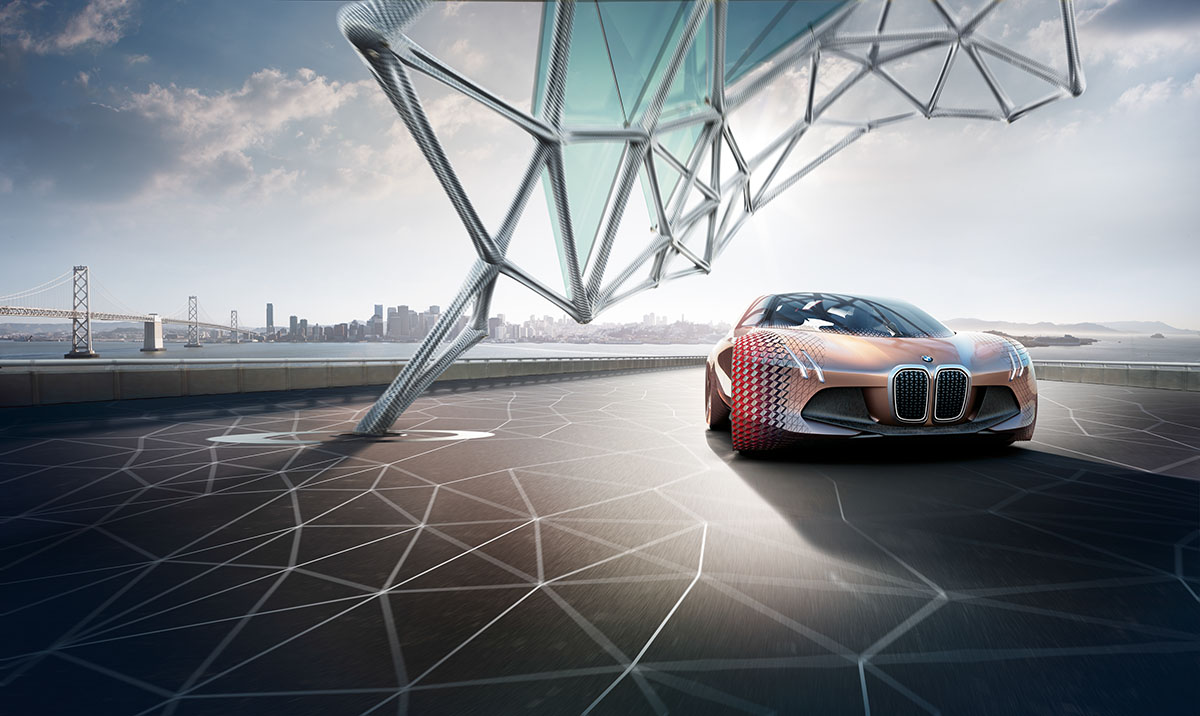 The Car of the Future: The BMW Vision Next 100 1