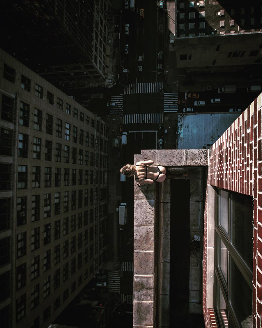 Balancing On The Edge Of NYC's Skyscrapers 9