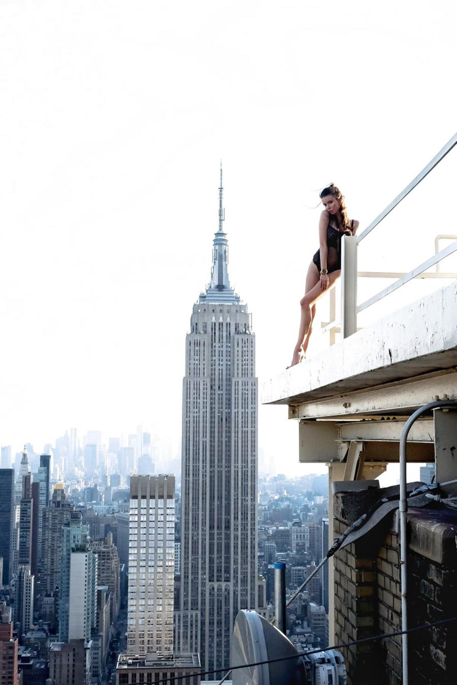 Balancing On The Edge Of NYC's Skyscrapers 13