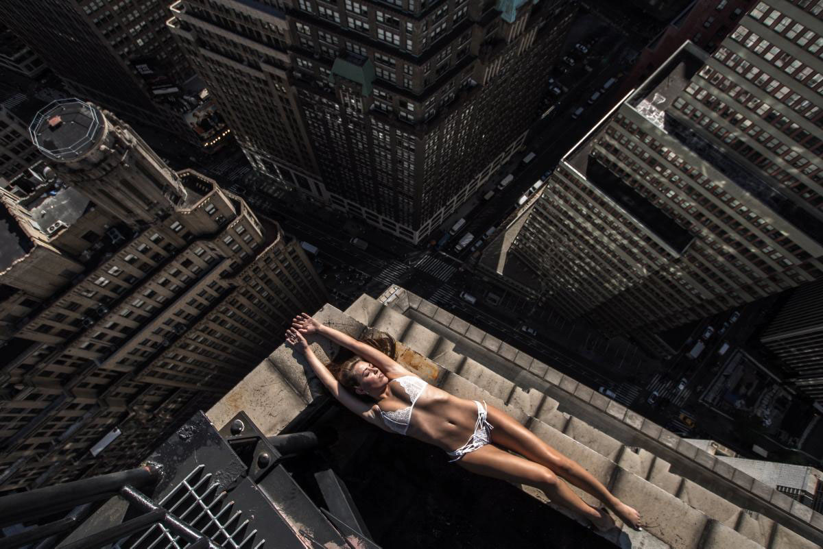 Balancing On The Edge Of NYC's Skyscrapers 1