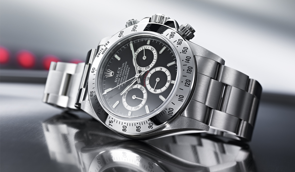 Rolex Daytona – Oyster Perpetual Cosmograph in Edelstahl
