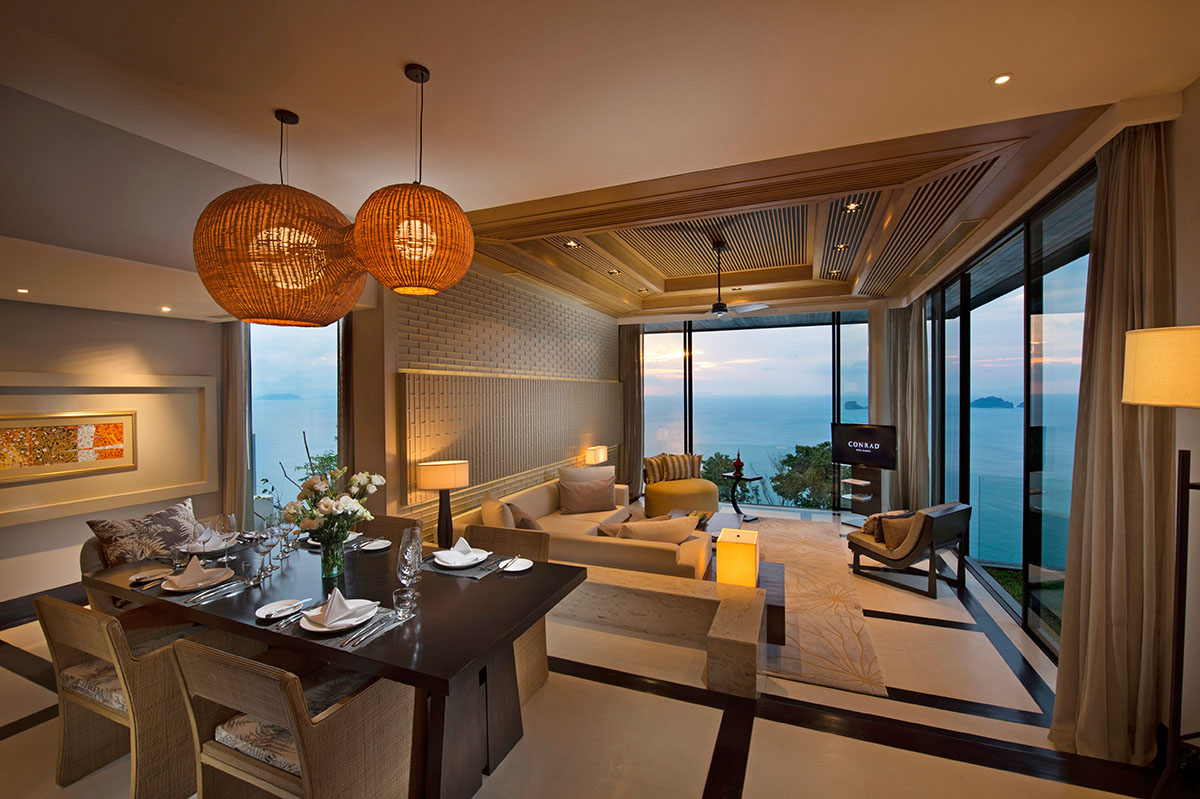 Relax at the Conrad Koh Samui Resort & Spa 11