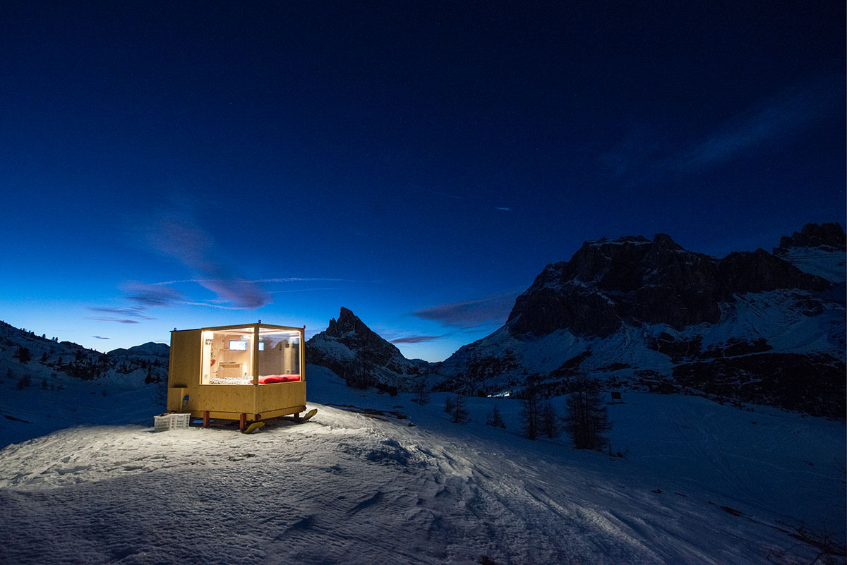 Sleeping Under The Stars x Starlight Room Dolomites 2