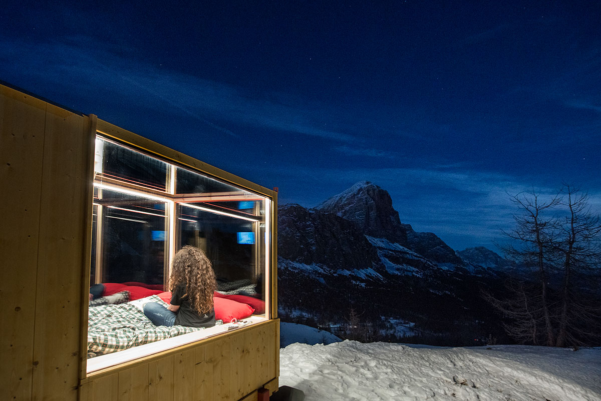 Sleeping Under The Stars x Starlight Room Dolomites 3