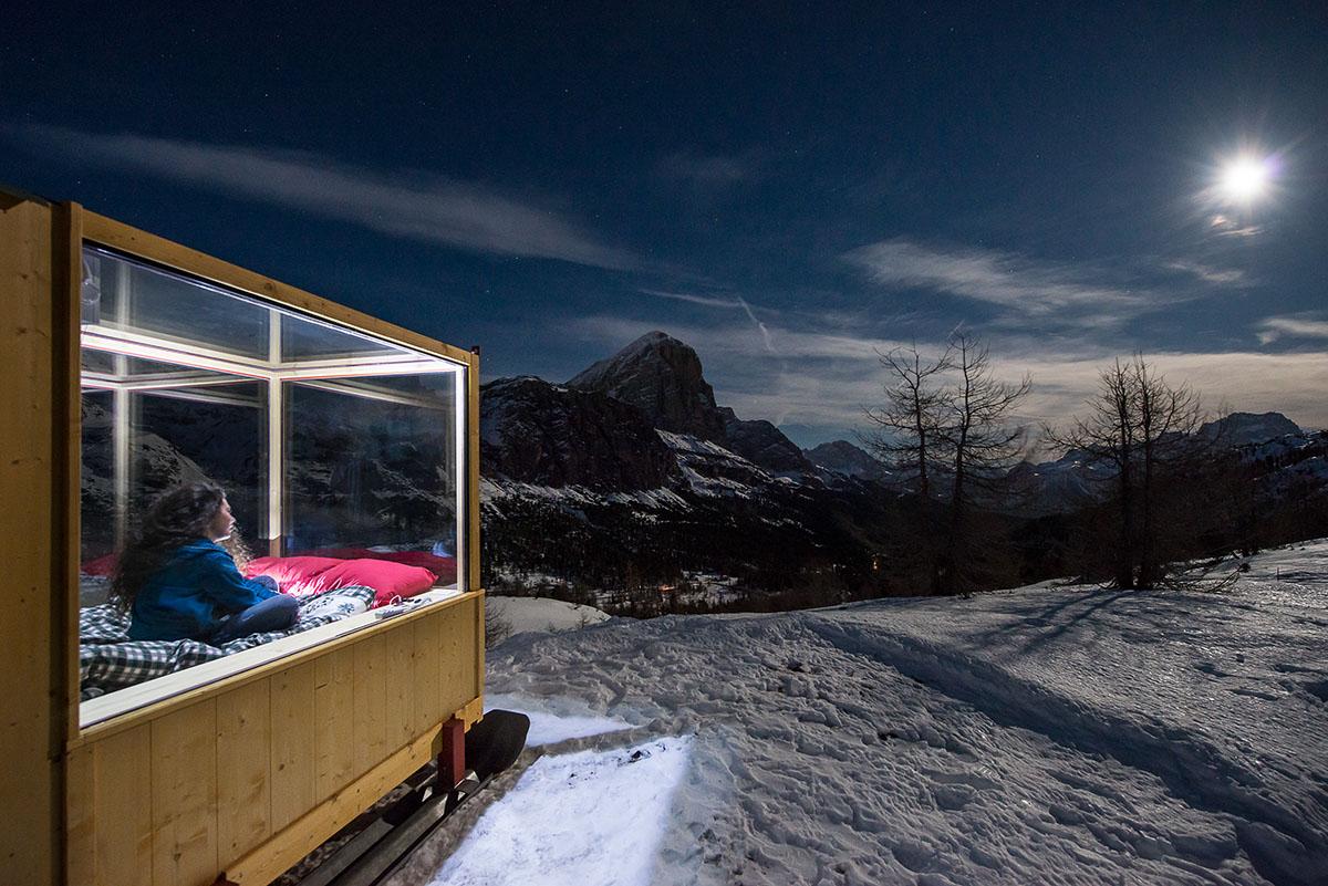 Sleeping Under The Stars x Starlight Room Dolomites 4
