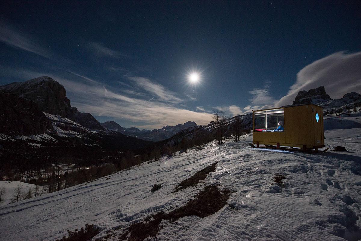 Sleeping Under The Stars x Starlight Room Dolomites 5