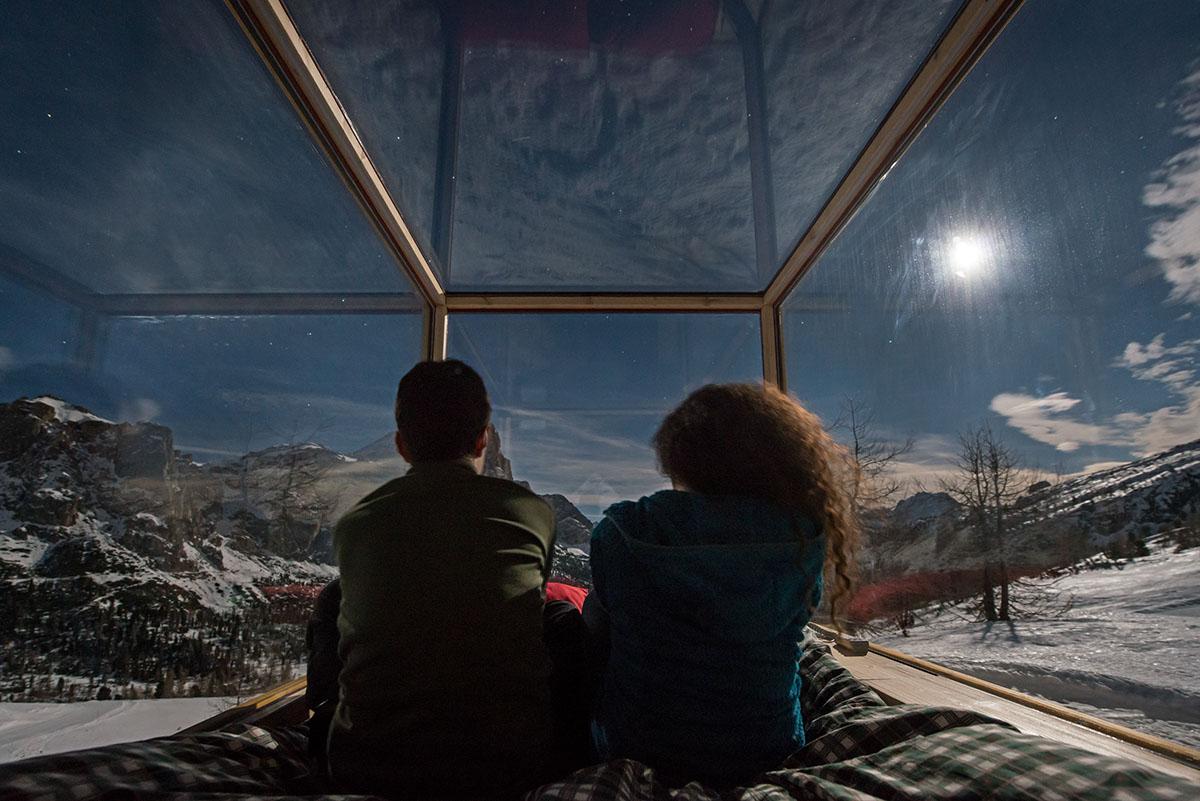 Sleeping Under The Stars x Starlight Room Dolomites 6