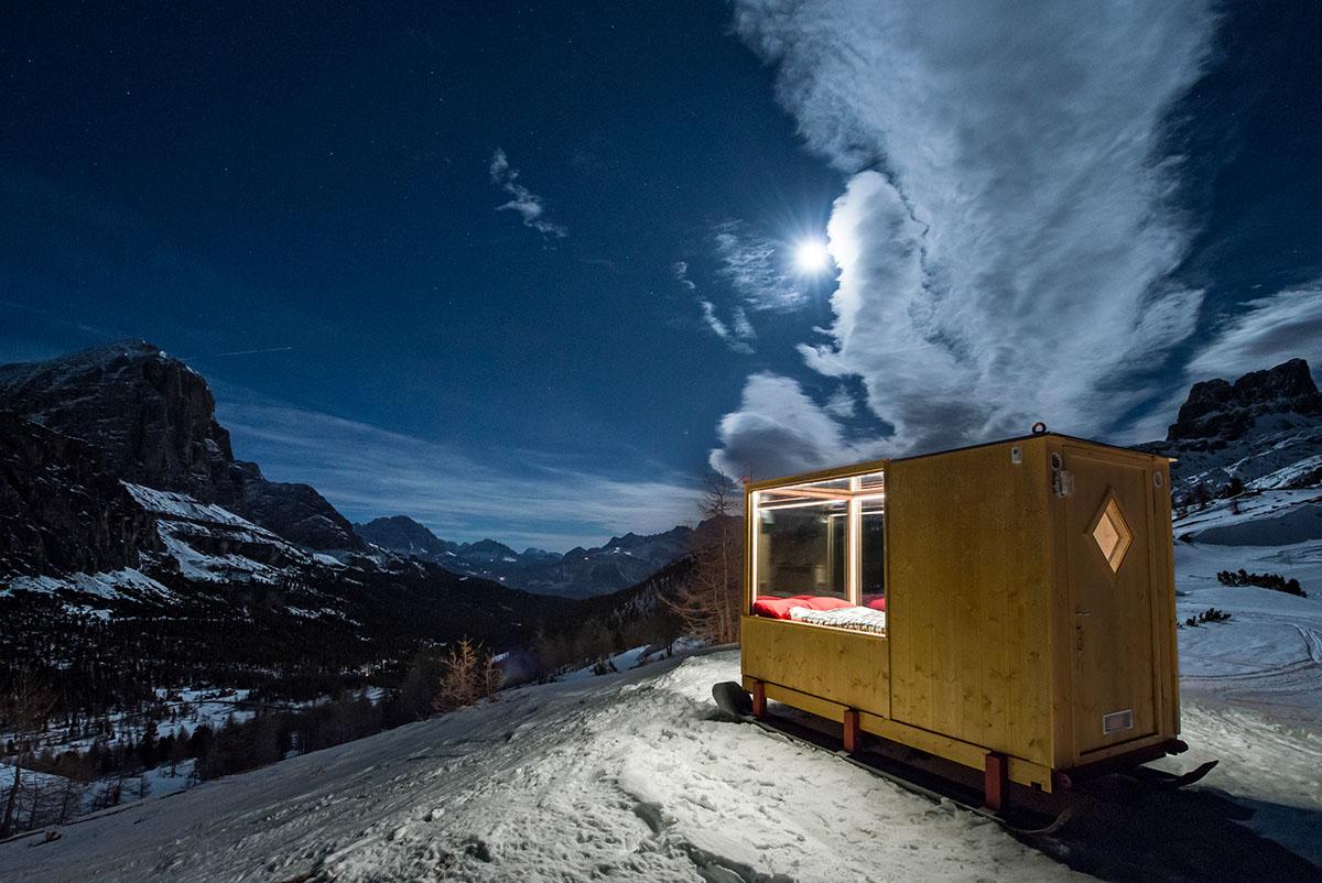 Sleeping Under The Stars x Starlight Room Dolomites 1