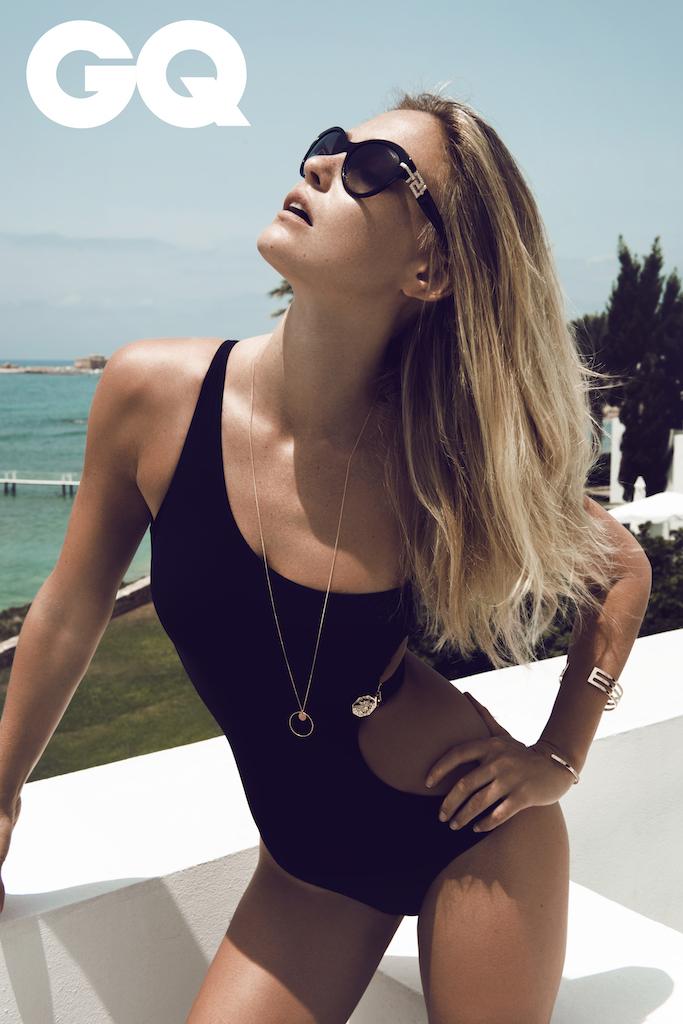 Summer on Cyprus: Bar Refaeli by Stefan Imielski for GQ 4