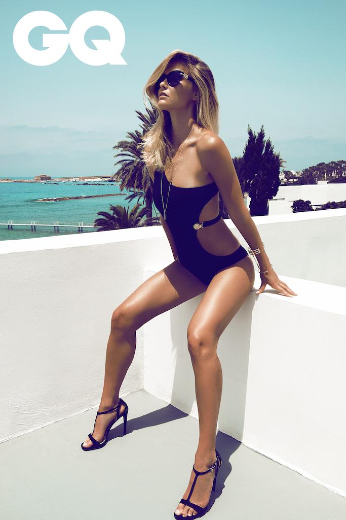 Summer on Cyprus: Bar Refaeli by Stefan Imielski for GQ 5