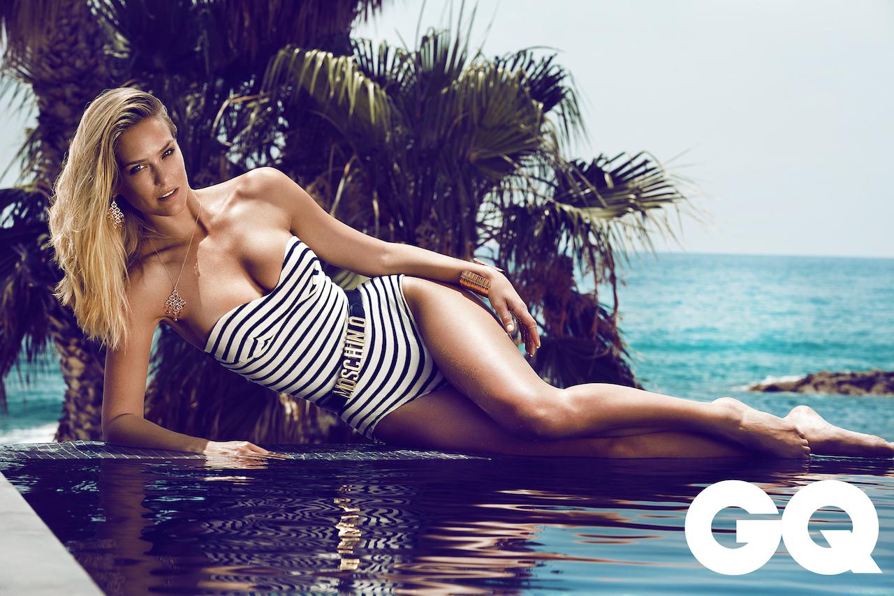 Summer on Cyprus: Bar Refaeli by Stefan Imielski for GQ 1