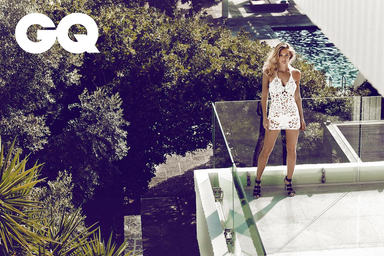 Summer on Cyprus: Bar Refaeli by Stefan Imielski for GQ 3