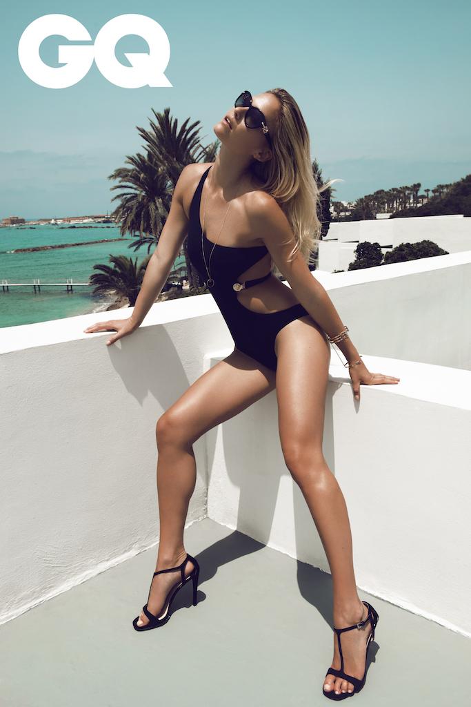 Summer on Cyprus: Bar Refaeli by Stefan Imielski for GQ 6