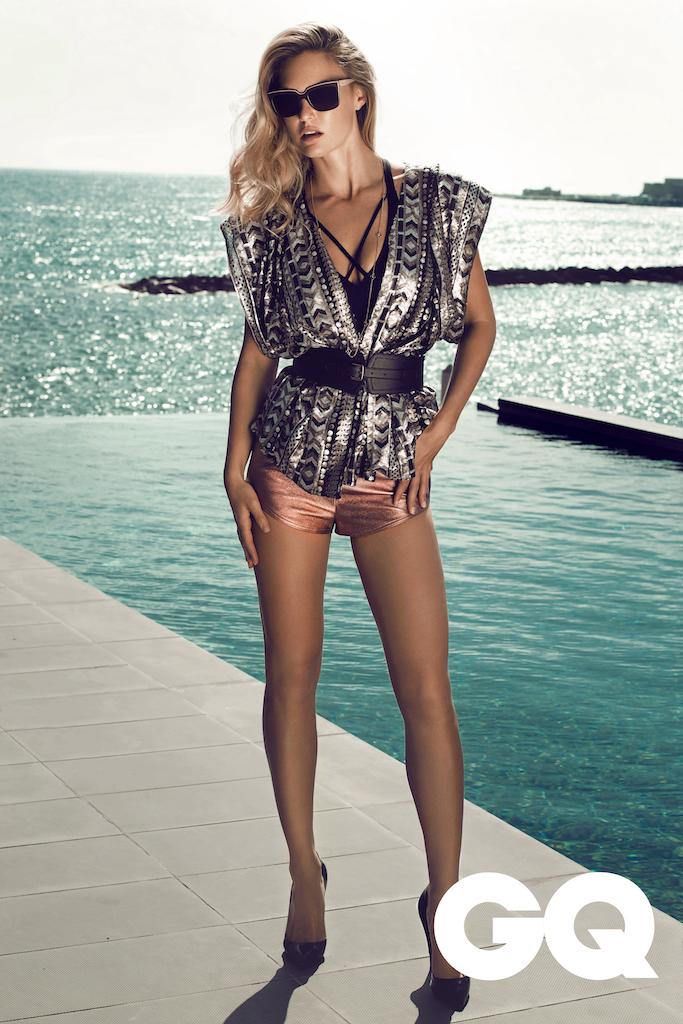 Summer on Cyprus: Bar Refaeli by Stefan Imielski for GQ 9
