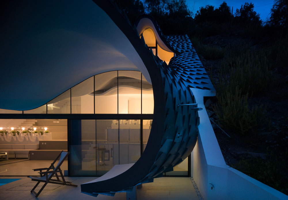 The House on the Cliff by GilBartolome Architecture 5
