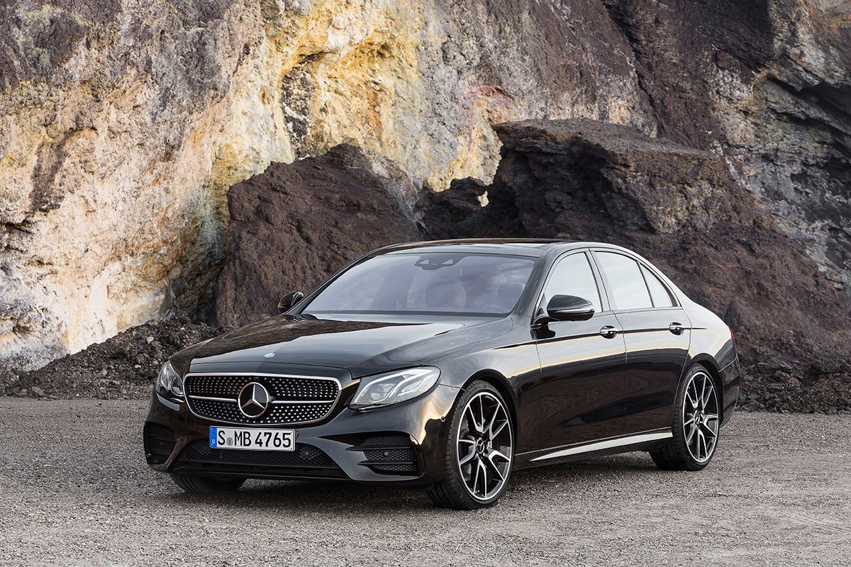 The new high-performance Mercedes-AMG E 43 4MATIC 7