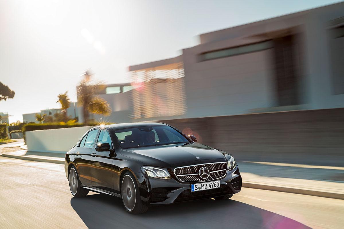The new high-performance Mercedes-AMG E 43 4MATIC 8
