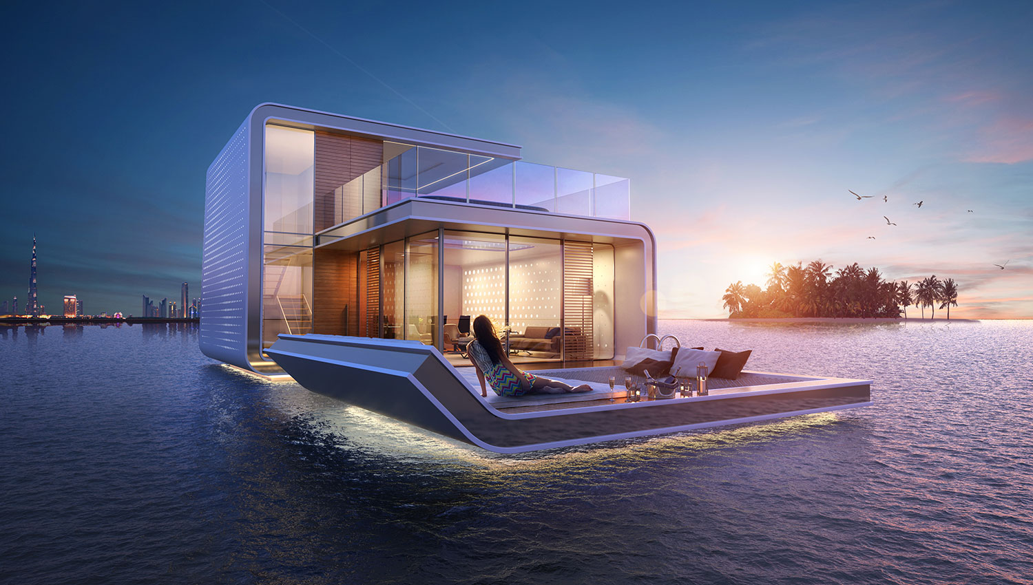 Dubai's First Floating Underwater Apartments 3