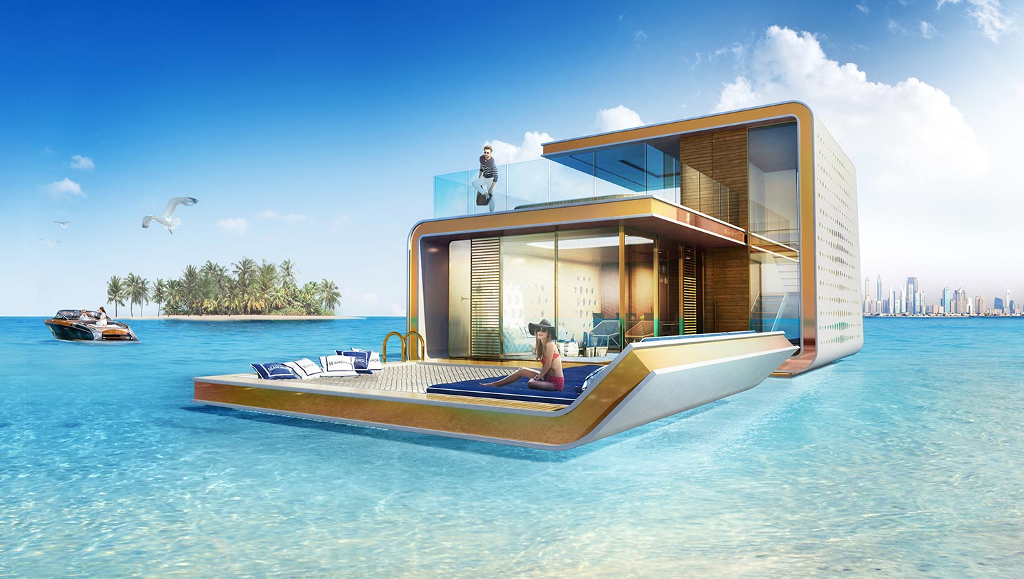 Dubai's First Floating Underwater Apartments 7