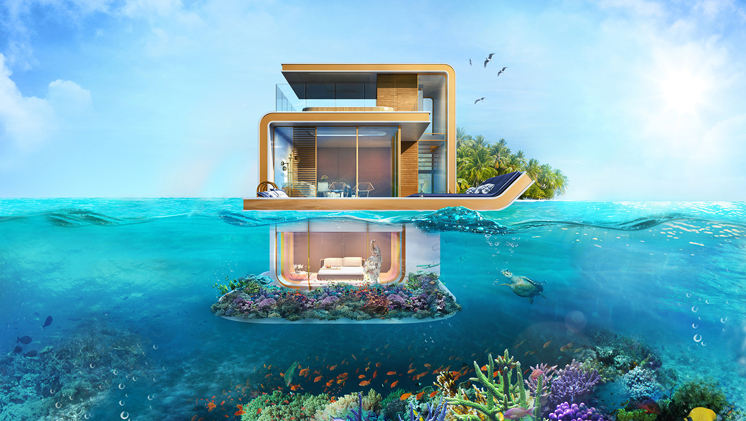 Dubai S First Floating Underwater Apartments 10
