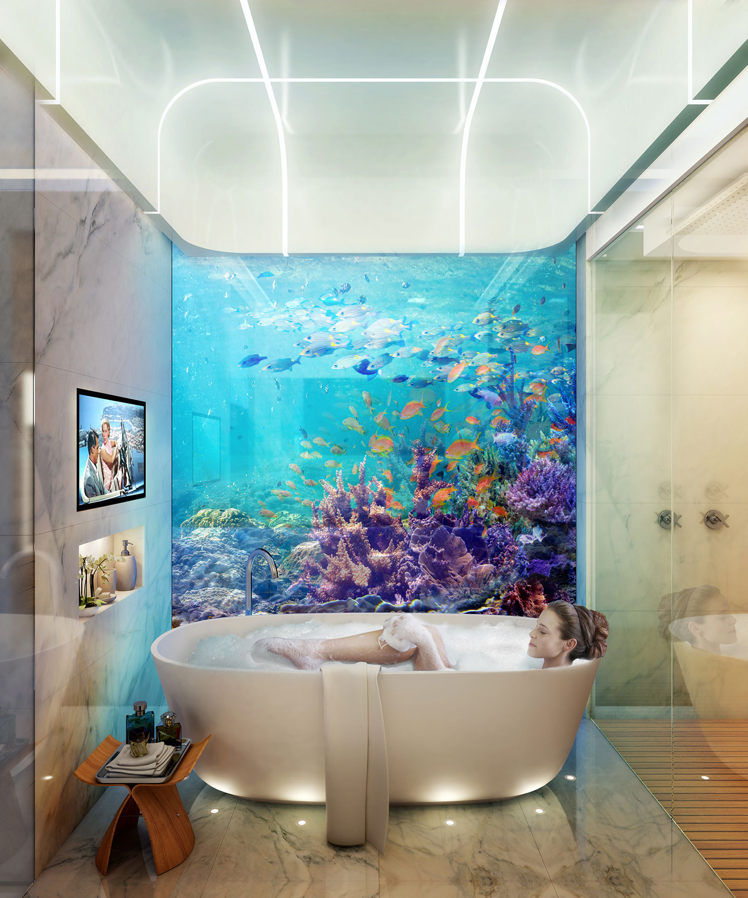 Dubai's First Floating Underwater Apartments 12