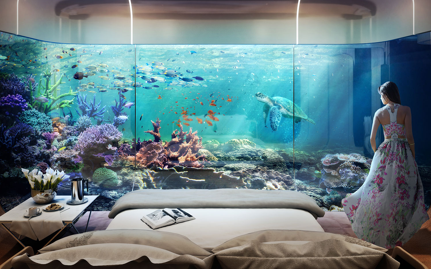 Dubai's First Floating Underwater Apartments 13