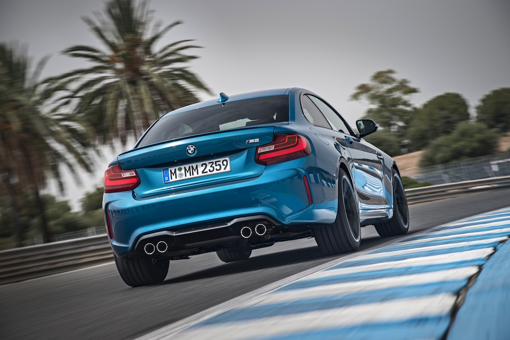Madness In Malaga – The BMW M2 2