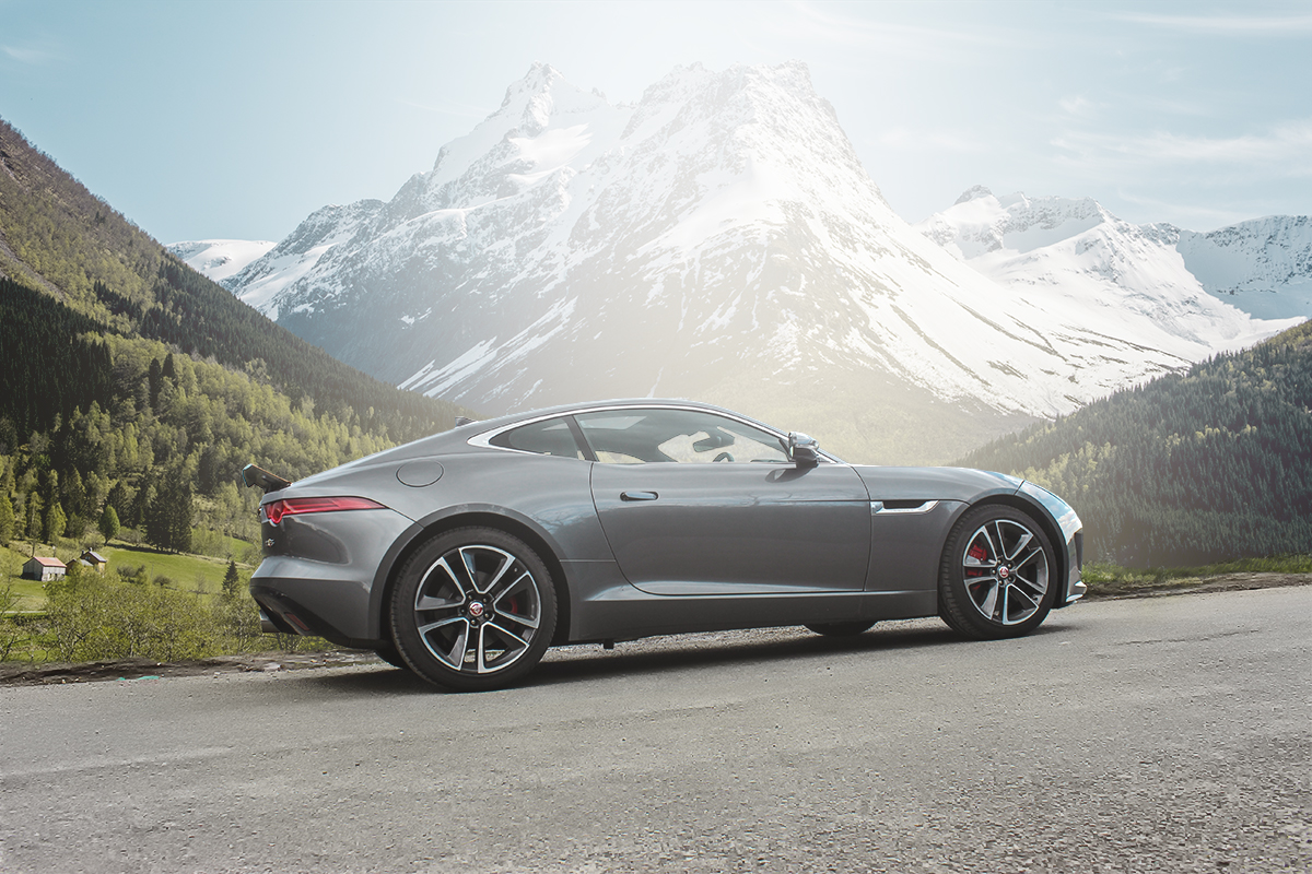 F-Type Life With the V6S All Wheel Drive 2