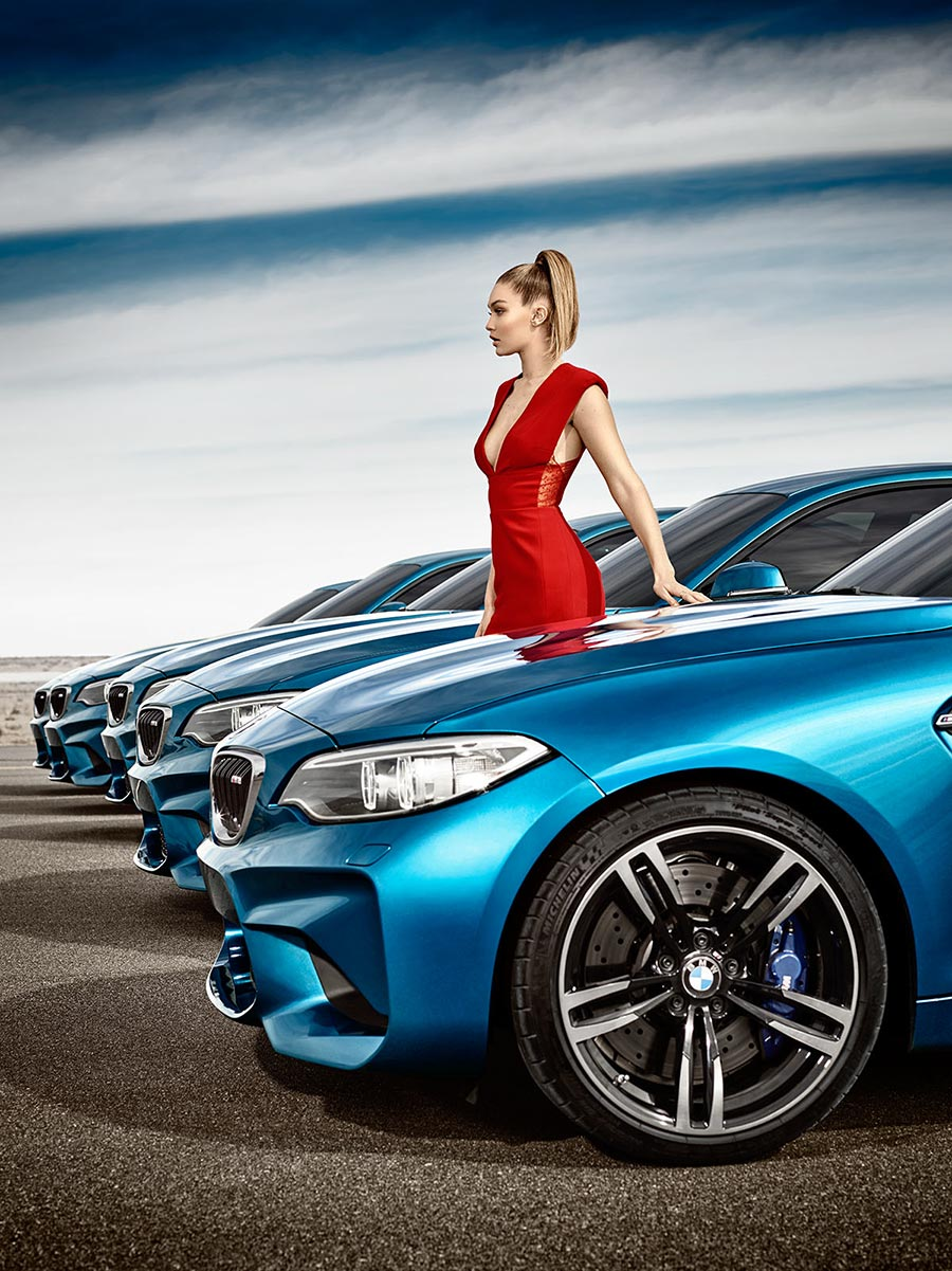 All 'Eyes On Gigi' for the new BMW M2 Coupé 3