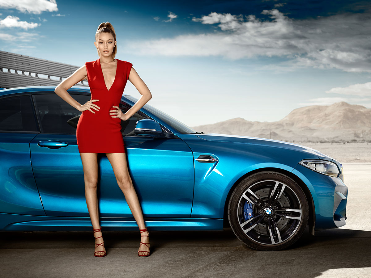 All 'Eyes On Gigi' for the new BMW M2 Coupé 5